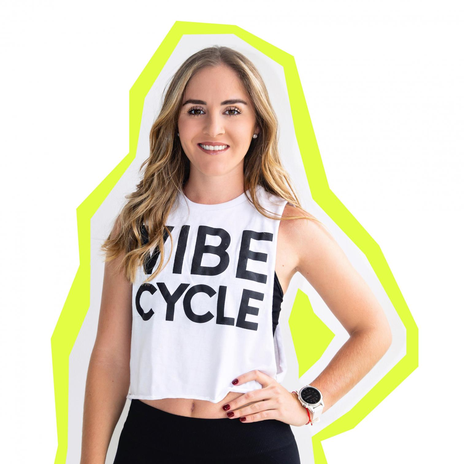 BELÉN | Instructores | VibeCycle